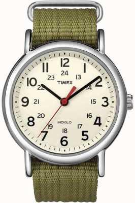 Timex 男士石英类似物 T2N651