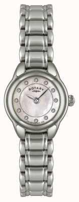 Rotary 防爆女性石镶不锈钢腕表 LB02601/07-EXDISPLAY
