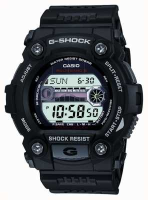 Casio 男士黑色g-shock数字计时码表 GW-7900-1ER