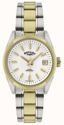 Rotary 女士哈瓦那|二音不锈钢|展示 LB02661/11 EX-DSPLAY