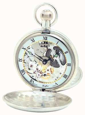 Woodford 银双胞胎盖pocketwatch 1065