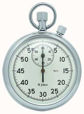 Woodford 铬白色表盘机械秒表 1041