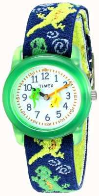 Timex 孩子们的壁虎伸展手表 T72881