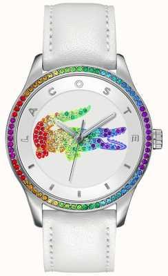 Lacoste 维多利亚多色白色手表 2000822