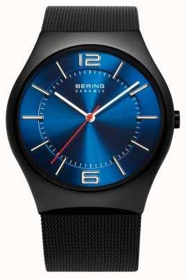 Bering 时间男士陶瓷网带手表 32039-447