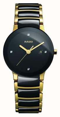 Rado Centrix钻石高科技陶瓷黑色表盘腕表 R30930712