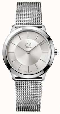 Calvin Klein 最小的收藏 不锈钢网带  K3M22126