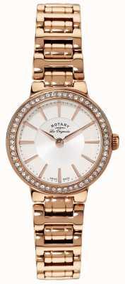 Rotary 女装les originales金色水晶镶嵌手表 LB90085/02