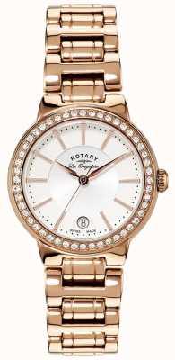 Rotary 女装les originales金色水晶镶嵌手表 LB90085/02L