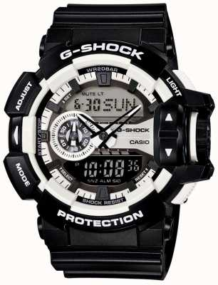 Casio 男士g-shock黑色腕表 GA-400-1AER