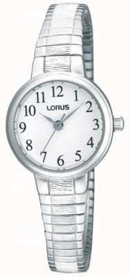 Lorus 女士钢扩展手链手表 RG239NX9