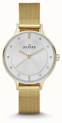 Skagen 女士们anita镀金手镯手表 SKW2150