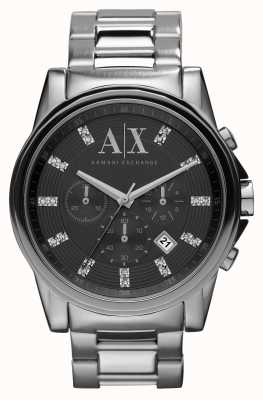 Armani Exchange Outerbanks男士计时码表腕表 AX2092EX-DISPLAY