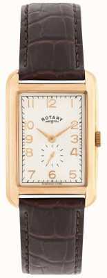 Rotary 波特兰男装玫瑰色礼服手表 GS02699/01