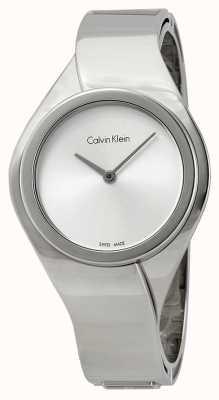Calvin Klein 女性感官,不锈钢手表 K5N2M126