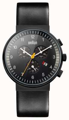 Braun 男士计时码表全黑色手表 BN0035BKBKG