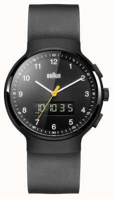 Braun Gent的黑色经典ana-digi手表 BN0159BKBKG