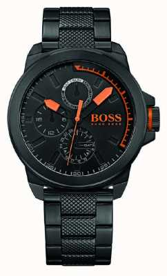 Hugo Boss Orange 男士黑色ip黑色表盘 1513157