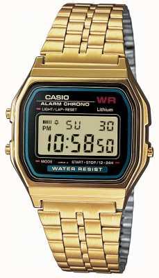 Casio 男士数字复古镀金 A159WGEA-1EF