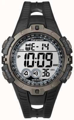 Timex 男装靛蓝马拉松闹钟计时码表 T5K802