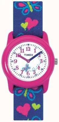 Timex 儿童小孩蝴蝶手表手表 T89001