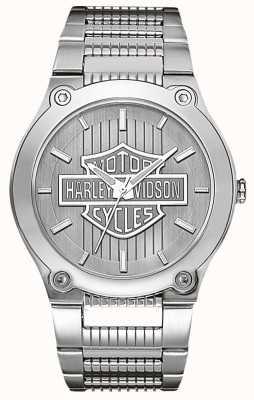 Harley Davidson 不锈钢与发光的手 76A134