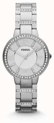 Fossil 女性弗吉尼亚州不锈钢 ES3282