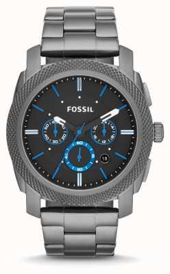 Fossil 男士机枪金属灰色 FS4931