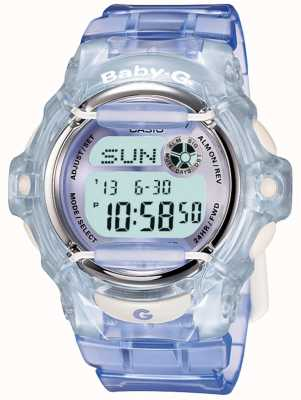 Casio Baby-G淡紫色/蓝色女士数字手表 BG-169R-6ER