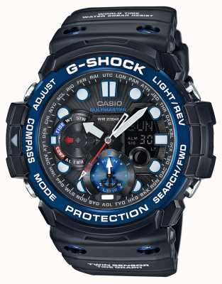 Casio G-shock gulfmaster闹钟计时码表 GN-1000B-1AER