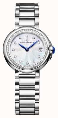 Maurice Lacroix 女士菲亚巴28毫米钻石套珍珠母贝 FA1003-SD502-170-1