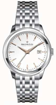 Dreyfuss 女士不锈钢手链银色表盘 DLB00125/06