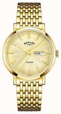 Rotary 男士镀金表盘 GB05303/03