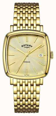Rotary 男士温莎镀金pvd GB05308/03
