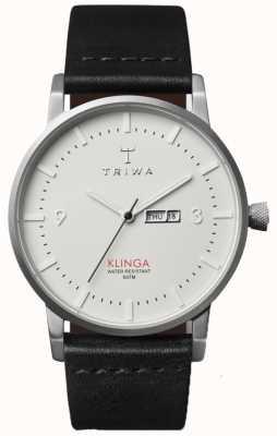 Triwa 中性象牙表盘皮革表带 KLST101-CL010112