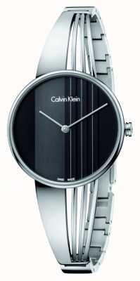 Calvin Klein 黑色表盘漂移手表 K6S2N111