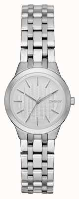 DKNY 公园斜坡女士银色手表 NY2490