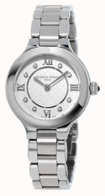 Frederique Constant 女士经典款钻石镶嵌不锈钢 FC-200WHD1ER36B