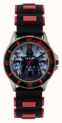 Star Wars 儿童星球大战达斯维德黑色表带 STW3434