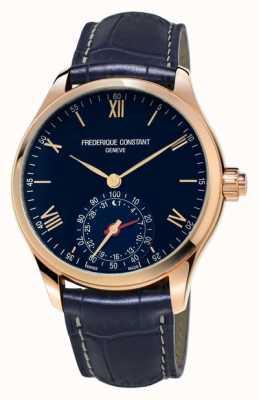 Frederique Constant 钟表smartwatch蓝玫瑰金蓝牙 FC-285N5B4