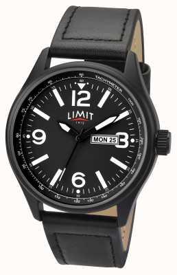 Limit 男士黑色表带黑色表盘 5621.01