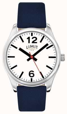 Limit 男士蓝色表带白色表盘 5627.01