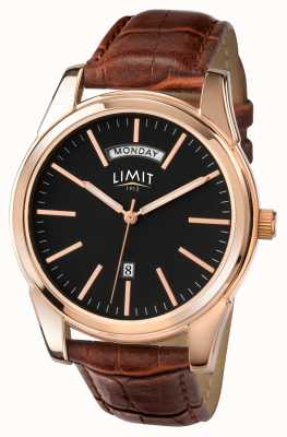 Limit 男士棕色表带黑色表盘 5484.01