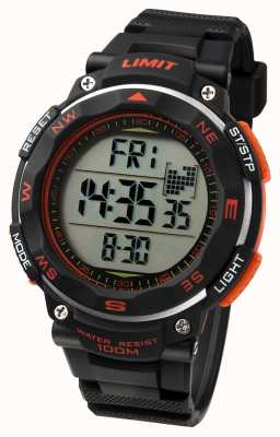 Limit 男士运动手表黑色表带 5485.01