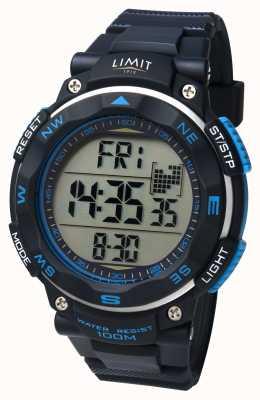 Limit 男士运动手表黑色表带 5487.66