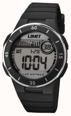 Limit 中性黑色表带数字表盘 5556.24