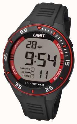 Limit 男士黑色表带数字表盘 5572.24
