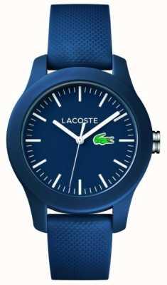 Lacoste 中性海军橡胶表带海军表盘 2000955