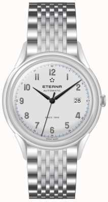 Eterna 1948年男装遗产全自动钢网 2955.41.14.1741