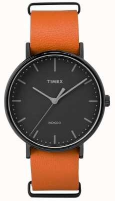 Timex 男女通用weekender fairfield黑色表盘 TW2P91400